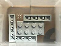 LEGO NEW Dark Bluish Gray Plate 1x4 Lot x20 Star Wars Ninjago Castle Parts 3710