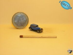 1934 Ford Model B 40A Z scale 1/220 Hand-painted Metal Model