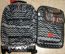 MISSONI FOR TARGET CARRY-ON SPINNER UPRIGHT 21 in LUGGAGE BLACK AND WHITE
