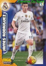 340 JAMES RODRIGUEZ COLOMBIA REAL MADRID AS.MONACO CARD MGK LIGA 2017 PANINI