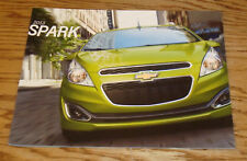 Original 2013 Chevrolet Spark Sales Brochure 13 Chevy LS LT