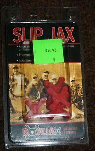 BowJax Slip Jax string silencer 1040 red new 4 pack 19 grain