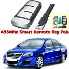 3 BTN 433Mhz ID48 Chip Smart Remote Key Fob For VW Magotan Passat CC 3C0959752BA