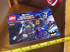 Lego Instruction Manual Batman Catwoman Chase DC 6858 Offcial