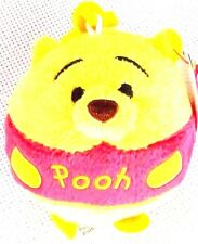 NEW! Disney Winnie the Pooh Bear Clip on Plush Doll Super Cute ~
