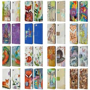 OFFICIAL WYANNE ANIMALS LEATHER BOOK WALLET CASE COVER FOR HUAWEI PHONES 2