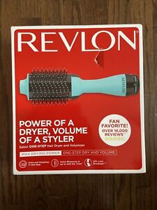 Revlon RVDR5222TURQ Salon One Step Volumizer Hair Dryer - Turquoise!