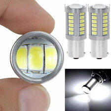 2PCS Car Backup Reverse Light BA15S P21W 1156 LED 33-SMD 5630 5730 White Bulb