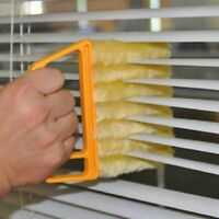 7 Slat Blind Cleaner Brush Duster Blinds Easy Cleaning Tool Cleaner  Special