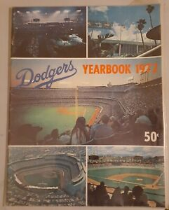 1972 Los Angeles Dodgers Yearbook Near Mint Condition