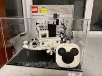 Lego display case for Lego Steamboat Willie 21317 ( Aus seller) )