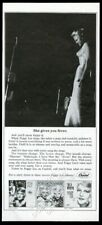 1963 Peggy Lee photo Capitol Records vintage print ad