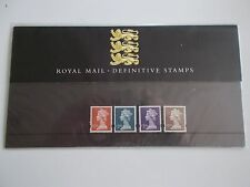 GB 1999 Enschede Machin High Values £1.50 to £5 in Presentation Pack no 43