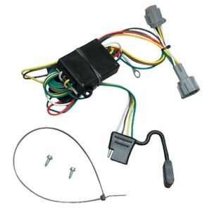 Trailer Wiring Harness Kit For 98-04 Nissan Frontier 1998 Quest Mercury Villager