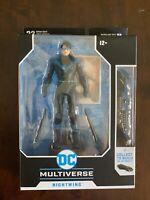 McFarlane Toys DC Multiverse NIGHTWING Figure MIP! Batmobile Wave