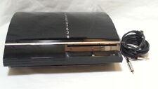 Sony Playstation 3 CECHA01 60GB backwards compatible w AV cable