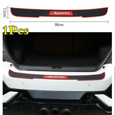 Car Rear Trunk Edge Sill Pad Bumper Protect Guard Rubber Trim Anti-Scratch Cover