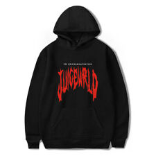 XS-4XL Juice Wrld Printed Hoodie Sweatshirt Hooded Casual Pullover Sweater