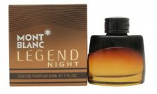 MONT BLANC LEGEND NIGHT EAU DE PERFUME 30 Ml SPRAY-MEN 'S PARA ÉL. nuevo