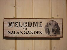 Unbranded Dog Welcome Decorative Plaques & Signs