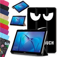 """Case for Huawei Mediapad T3 10"""" Leather Magnetic Stand Slim Book Smart Cover"""