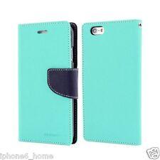iPhone 6 6s Genuine Mercury Goospery MINT Green Flip Case Wallet Cover Post