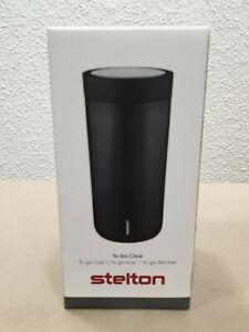 Stelton To Go Click Becher 0,34L schwarz 580-1
