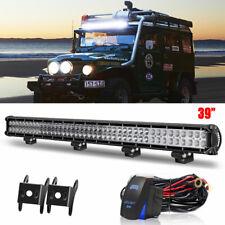 NEW Straight 39inch 252W LED Light Bar Combo Drivng Lamp ATV SUV & Wiring Kit
