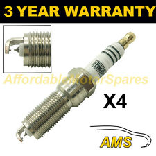 4X DOUBLE IRIDIUM SPARK PLUGS FOR VOLVO V60 T4F 2011 ONWARDS