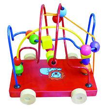 "Spielzeug ""Labyrinth"" Feinmotorik Fingerspiel Lernspiel Holz Motorikschleife"
