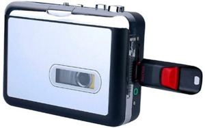 Cassette Player USB Walkman Cassette Tape Music Audio to MP3 Converter Player to
