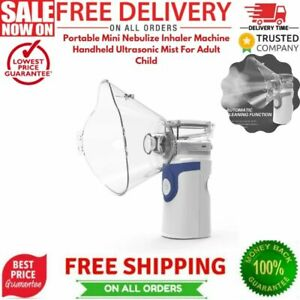 Portable Mini Nebulize Inhaler Machine Handheld Ultrasonic Mist For Adult Child