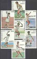 Timbres Sports Tennis Nicaragua 1459/60 PA1175/9 ** lot 17747