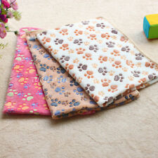Soft Warm Pet Fleece Blanket Bed Mat Pad Cover Cushion For Dog Cat Puppy Supply