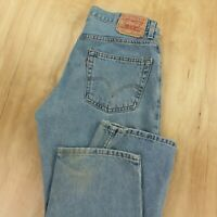 LEVIS 550 men's relaxed fit jeans 34 x 28 (34 x 30 tag) tapered red tab skate