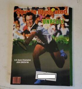 Sports Illustrated September 17 1984 John McEnroe tennis