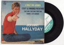 EP  JOHNNY HALLYDAY-L'idole des jeunes-LANGUETTE-Philips-FRENCH