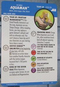 TEAM UP AQUAMAN 029.09 MARTIAN MANHUNTER Justice League Unlimited HeroClix