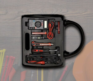 Electrical and Electronic Tools Set Electrician Toolbox Coffee Mug Gift