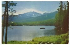 Sylvan Lake & Pass, Yellowstone National Park, WY, Top Notch, chrome postcard