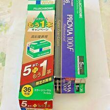 Fuji film PROVIA 100F &Velvia 36ex set of 9    Expired  DHL shipping