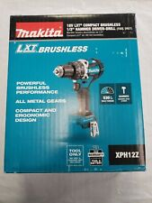 Makita Xph12z 18v Li Ion Brushless Compact 12 Hammer Drill Tool Only
