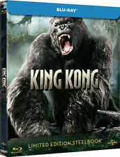 King Kong Limited Edition Steelbook Bluray UK Exclusive Region B NEW SEALED