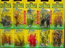 30 Packs - Creek Town Plastic Fishing Tackle Lures for Crappie, Bream, Carp, etc