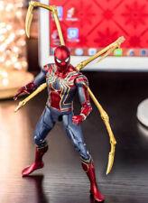 "Marvel Avengers 3 Infinity War Iron Spider-man Iron man 6"" Figure Toys No Box"