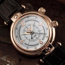 BURAN V.M. 2612/4299248 Wecker russische mechanische Uhr Alarm Armbandwecker