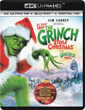 DR. SEUSS HOW THE GRINCH STOLE CHRISTMAS (4K ULTRA HD / BLU-RAY / DIGI (BLU-RAY)