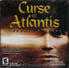CURSE OF ATLANTIS Thorgal's Quest PC Game Sealed NEW