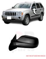 Para Jeep Grand Cherokee 05-10 Nuevo Exterior Retrovisor Negro Izquierda/S LHD
