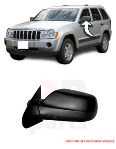 Pour Jeep Grand Cherokee 05-10 Neuf Extérieur Rétroviseur Noir Gauche N/S LHD